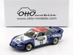 Alpine A110 #67 Group 5 Rallye Cross 1977 team Vialle 1:18 OttOmobile