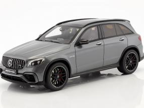 Mercedes-Benz AMG GLC 63 SUV Baujahr 2017 selenit grau 1:18 GT-Spirit