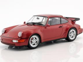 Porsche 911 (964) Turbo year 1990 red metallic 1:18 Minichamps