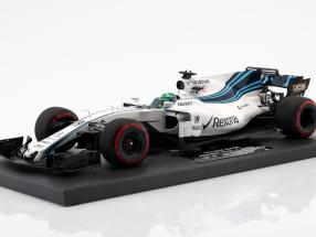 Felipe Massa Williams FW40 #19 Last GP Abu Dhabi GP F1 2017 1:18 Minichamps