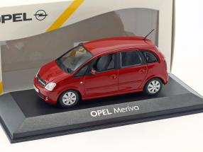 Opel Meriva Year 2003 red 1:43 Minichamps