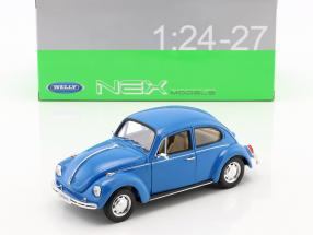Volkswagen VW Beetle Year 1959 blue 1:24 Welly