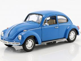 Volkswagen VW Beetle Baujahr 1959 blau 1:24 Welly