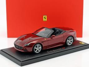 Ferrari California T Autoshow Genf 2014 dunkelrot 1:18 BBR
