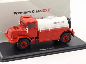 Tatra 128C Tankwagen Baujahr 1951 rot / weiß 1:43 Premium ClassiXXs
