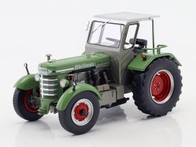 Hürlimann D 200 S with cabin green 1:32 Schuco