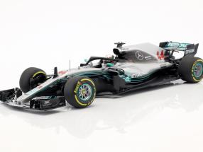 Lewis Hamilton Mercedes-AMG W09 EQ World Champion formula 1 2018 1:18 Minichamps