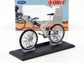 Bicycle Audi Design Cross silver / blue 1:10 Welly