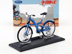 Bicycle BMW Q5.T blue 1:10 Welly