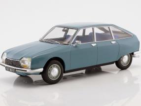 Citroen GS Club year 1972 camargue blue 1:18 Norev