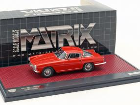 Aston Martin DB2/4 Coupe Bertone Arnolt  year 1953 red 1:43 Matrix