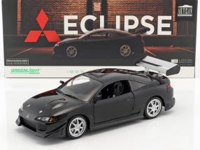 Mitsubishi Eclipse year 1995 black 1:18 Greenlight