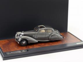 Bentley 4.25 Litre Carlton Pillarless Saloon year 1937 gray metallic 1:43 Matrix