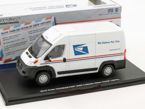 Ram ProMaster 2500 Cargo USPS van year 2018 White 1:43 Greenlight