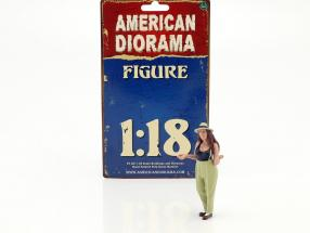 Hanging Out 2 Tanya figure 1:18 American Diorama