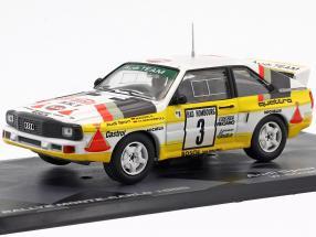 Audi Quattro Sport #3 2nd Rallye Monte Carlo 1985 Röhrl, Geistdörfer 1:43 Altaya