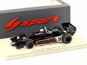 Elio de Angelis Shadow DN9 #18 Argentina GP formula 1 1979 1:43 Spark