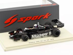 Elio de Angelis Shadow DN9 #18 4th United States east GP formula 1 1979 1:43 Spark