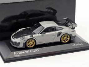 Porsche 911 (991.2) GT2 RS Baujahr 2018 kreide grau 1:43 Minichamps