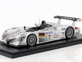 Audi R8 #7 3rd 24h LeMans 2000 Abt, Alboreto, Capello 1:43 Spark