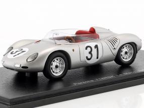 Porsche 718 RSK #31 24h LeMans 1959 Bonnier, Von Trips 1:43 Spark