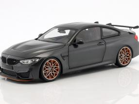 BMW M4 GTS year 2016 gray metallic 1:18 Minichamps
