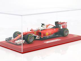 S. Vettel Ferrari SF16-H #5 3rd Australia GP F1 2016 With Showcase and Leather Box 1:18 BBR