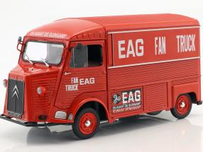 Citroen Type HY year 1969 En Avant de Guingamp Fan Truck 2019 red 1:18 Solido