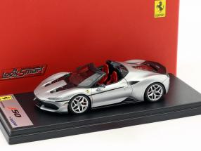 Ferrari J50 Roadster year 2016 silver metallic 1:43 LookSmart