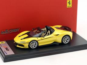 Ferrari J50 Roadster Baujahr 2016 tristrato gelb 1:43 LookSmart