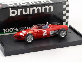Phil Hill Ferrari 156 F1 #2 World Champion Italien GP Formel 1 1961 1:43 Brumm