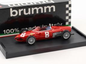 Ricardo Rodriguez Ferrari 156 #8 Italian GP formula 1 1961 1:43 Brumm