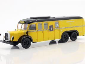 Mercedes-Benz O10000 Bus Post Österreich Baujahr 1938 gelb 1:43 Altaya