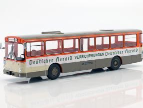 Mercedes-Benz O305 bus Deutscher Herold year 1979 orange / white / beige 1:43 Altaya