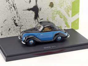 BMW 531 year 1951 black / blue 1:43 AutoCult