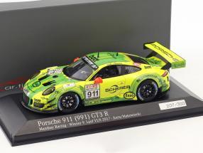 Porsche 911 (991) GT3 R #911 Winner 9. run VLN 2017 Manthey Grello 1:43 Minichamps