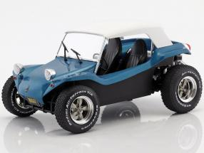 Meyers Manx Buggy year 1968 blue metallic / White 1:18 Solido