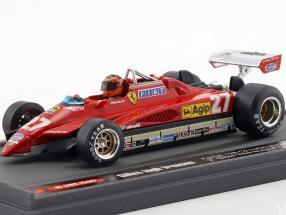 Gilles Villeneuve Ferrari 126C2 #27 2nd San Marino GP Formel 1 1982