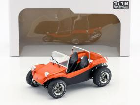 Meyers Manx Buggy Baujahr 1968 Film The Thomas Crown Affair (1968) orange 1:18 Solido