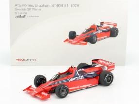 Niki Lauda Brabham BT46B #1 Winner Sweden GP formula 1 1978 1:18 TrueScale