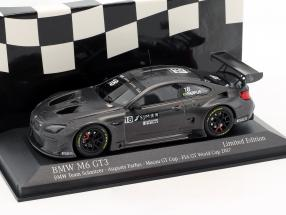 BMW M6 GT3 #18 4th FIA GT World Cup Macau 2017 Augusto Farfus 1:43 Minichamps