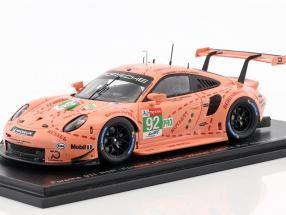 Porsche 911 (991) RSR #92 Class Winner LMGTE-Pro 24h LeMans 2018 1:43 Spark