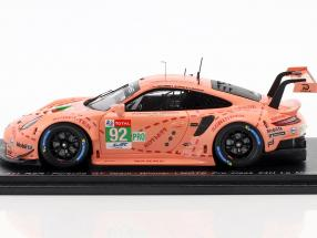 Porsche 911 RSR #92 Class Winner LMGTE Pink Pig 24h LeMans 2018