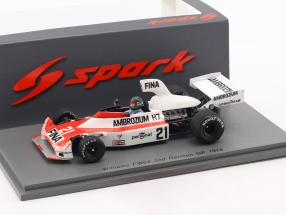 Jacques Laffite Williams FW04 #21 2nd Deutschland GP Formel 1 1975 1:43 Spark