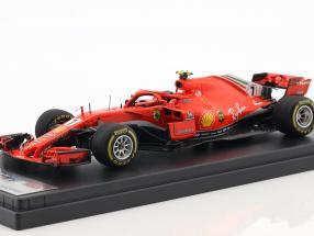 Kimi Räikkönen Ferrari SF71H #7 Winner USA GP formula 1 2018 1:43 LookSmart