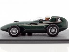 Maurice Trintignant Vanwall VW2 #14 Monaco GP Formel 1 1956