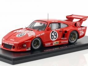 Porsche 935 K3 #69 24h LeMans 1980 Akin, Miller, Kent-Cooke 1:43 Spark