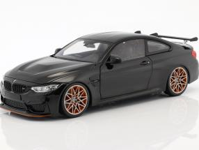 BMW M4 GTS year 2016 black metallic 1:18 Minichamps
