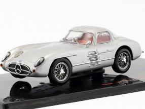 Mercedes-Benz 300 SLR Coupe Uhlenhaut (W196S) year 1955 silver 1:43 Ixo