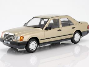 Mercedes-Benz 260 E (W124) year 1984 gold metallic 1:18 Model Car Group